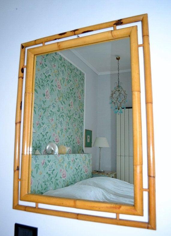 Die besten 25+ Bambus Spiegel Ideen auf Pinterest blau weiß - design aus glas rezeption bilder
