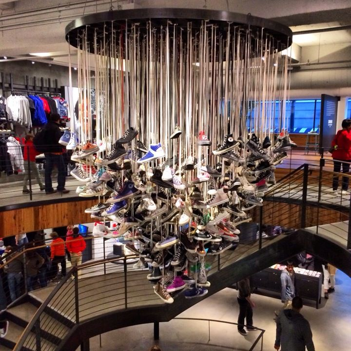 Design your own custom kicks and clothes at the Converse store in Union Square. Love when personalization and shopping go hand in hand.