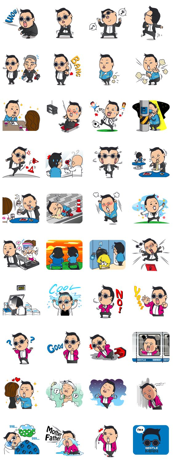 画像 - PSY 2nd SPECIAL EDITION by YG Entertainment - Line.me
