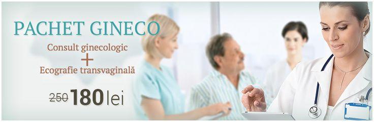 Pachet ginecologie: consultatie de specialitate si ecografie transvaginala.