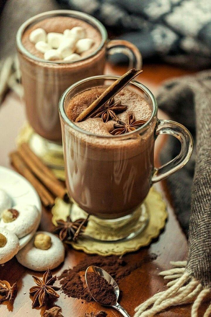 Год, горячий шоколад картинки красивые
