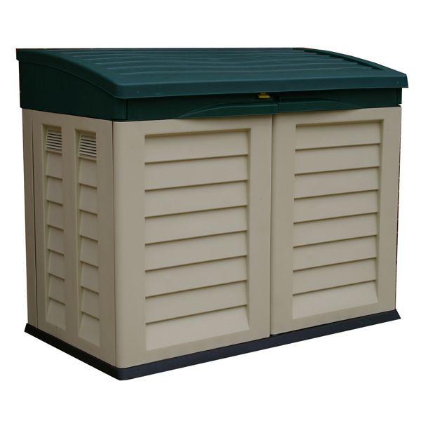 Garden Storage: Large Garden Storage Boxes Plastic