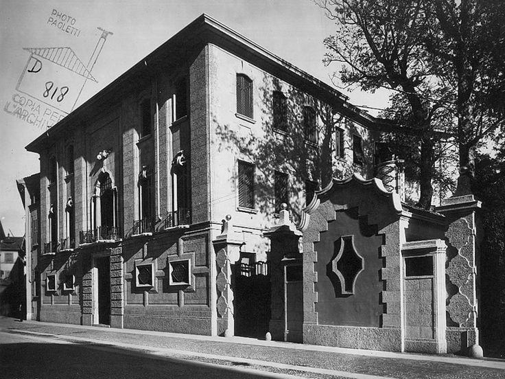 Sede per la Società Filatura Cascami Seta - Piero Portaluppi - itineraries - Ordine degli architetti, P.P.C della provincia di Milano