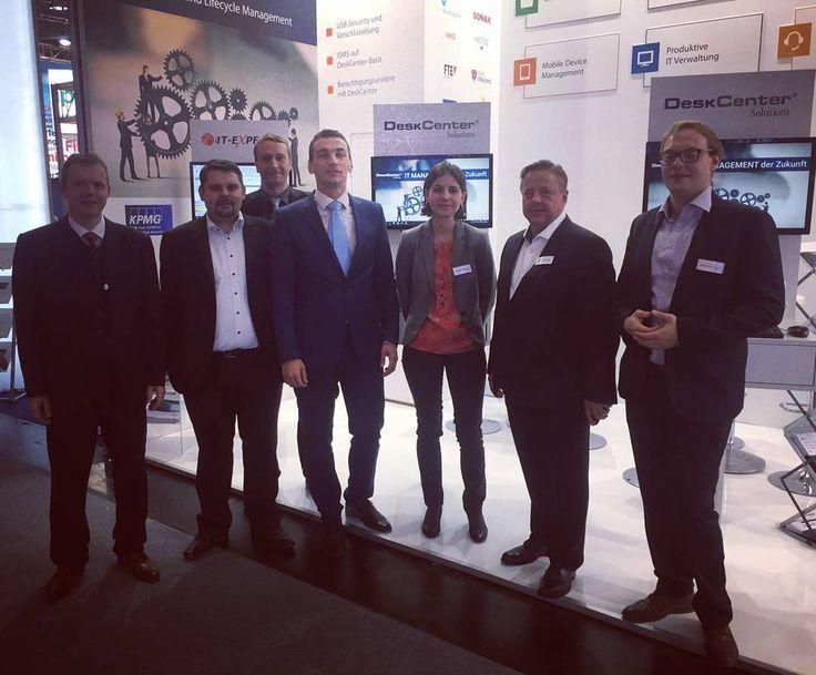 #deskcentersolutions #itsa2016 #team #teamwork #wirfreuenunsaufeuch #joinus #messe #stand #partners #software #softwarefollower #bavaria #nürnberg