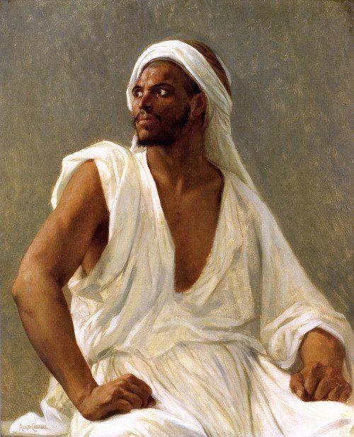 Alexandre Cabanel Portrait of an Arab.