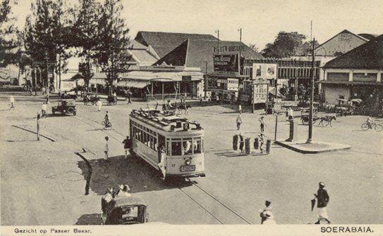 Passer Besar Soerabaja 1900-1950.