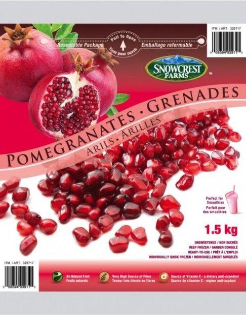 Pomegranates Package Snowcrest - Costco