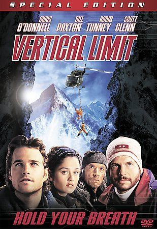 Vertical Limit DVD Special Edition, Chris O'Donnell, Bill Paxton, Adventure