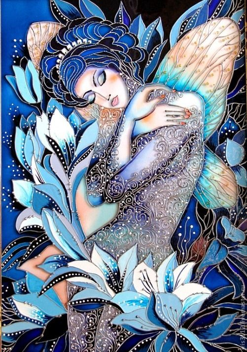 Stained Glass Painting by Iris - Google Search