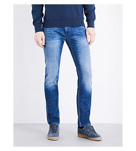 STONE ISLAND Faded Slim-Fit Skinny Jeans. #stoneisland #cloth #jeans