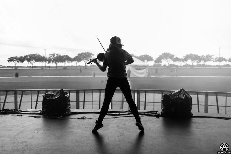 Soundcheck with Lindsey Stirling on her Shatter Me Tour. full set- http://adamelmakias.com/work/photos-from-lindsey-stirling-shatter-me-tour/