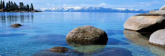 South Lake Tahoe ... just love this lake crystal clear & places it sparkles pure blue.