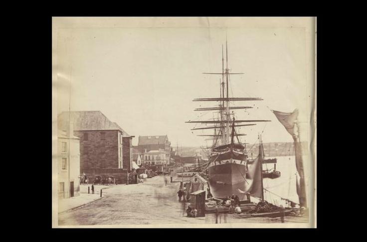 Circular Quay from Pitt Street, Sydney, 1870 © The National Archives