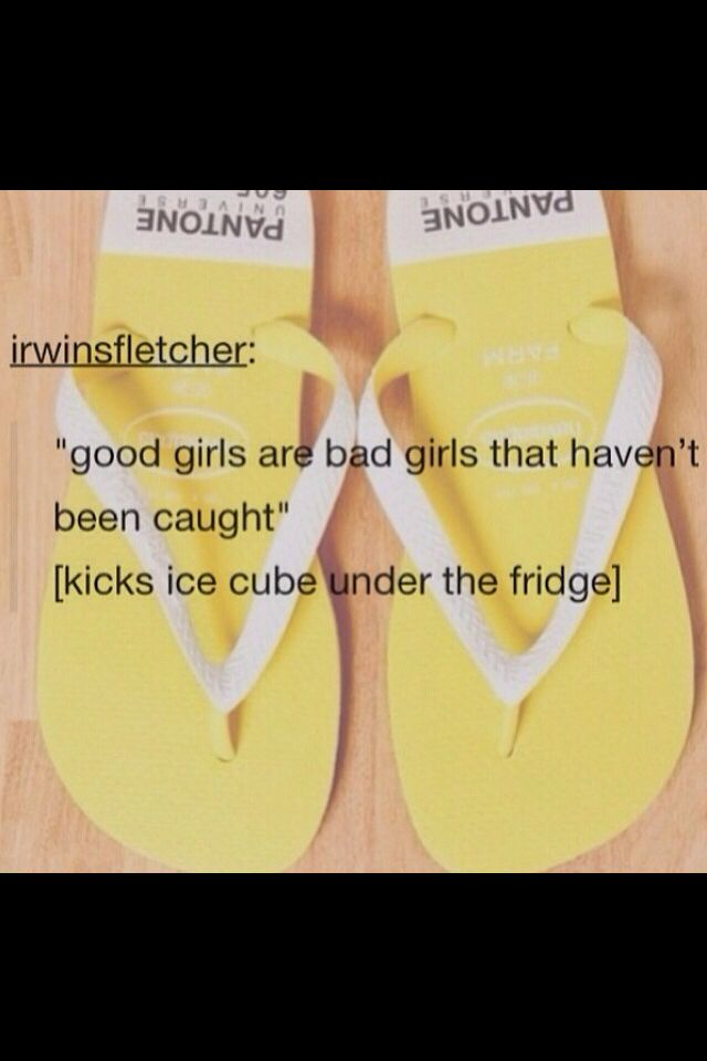 you have no idea how many times i think of this post when i kick ice under the fridge