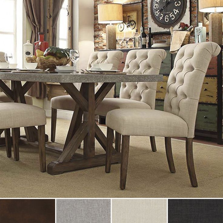 70+ Cushioned Dining Chairs - Rustic Modern Furniture Check more at http://www.ezeebreathe.com/cushioned-dining-chairs/