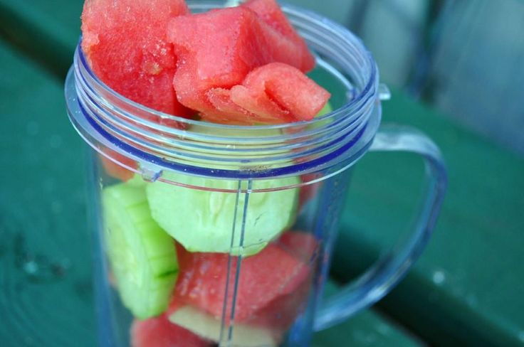 The End of Summer: A Watermelon-Cucumber-Lime flavored Goodbye