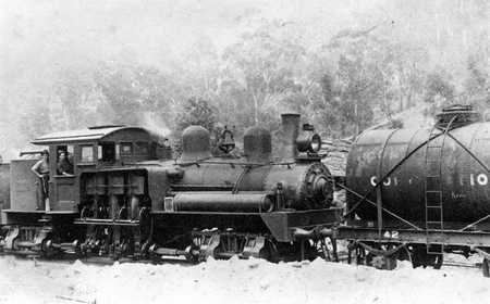4w Tank wagon and shay loco