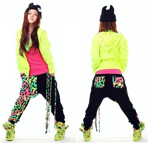New New Fashion Brand Jazz Harem Women Hip Hop Pants Dance Doodle Spring