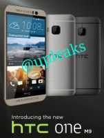 HTC One (M9) seemingly shown in press renders