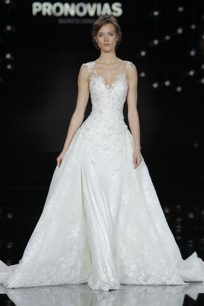 60 vestidos de novia corte princesa 2017 que querrás lucir ¡Elige el tuyo! Image: 48