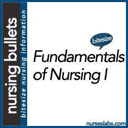 Nursing Bullets: Fundamentals of Nursing Reviewer Part I