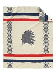 I love these Pendleton blankets!!! Heroic Chief Blanket