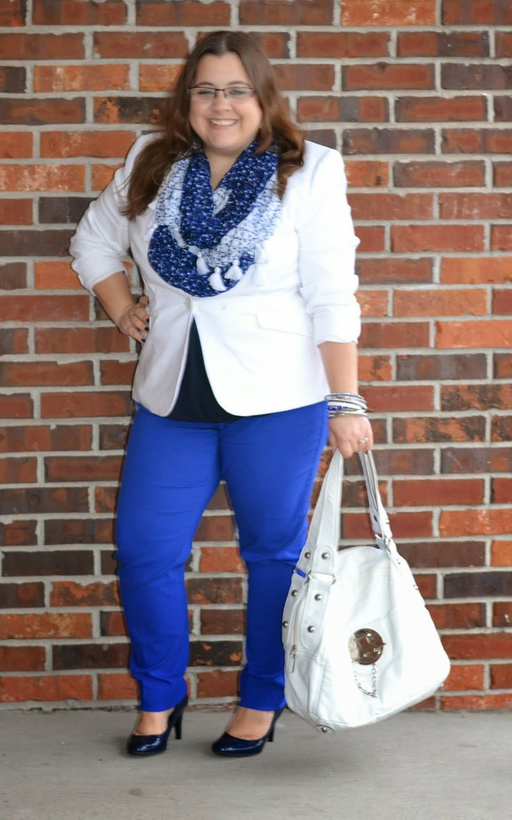 Curvy and petite style fashion the limited work look cobalt http