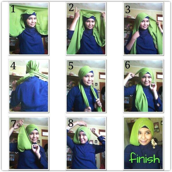 Hijab tutorial . Formal style