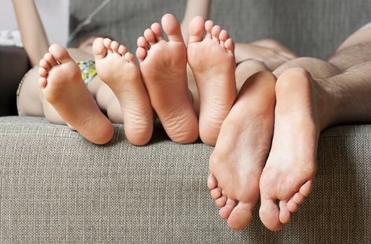 feet health, bare feet