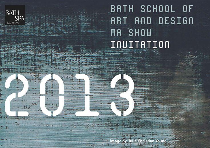 Bath School of Art and Design MA Fashion and Textiles Degree Show, September 21-28 2013. http://artdesign.bathspa.ac.uk/news/ma-shows-2013/