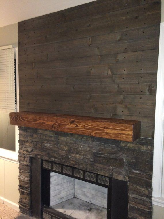 Fireplace Mantle 60 Long X 5 5 Tall X 9 Deep Etsy In 2020 Fireplace Mantle Rustic Stone Fireplace Wood Fireplace Mantel