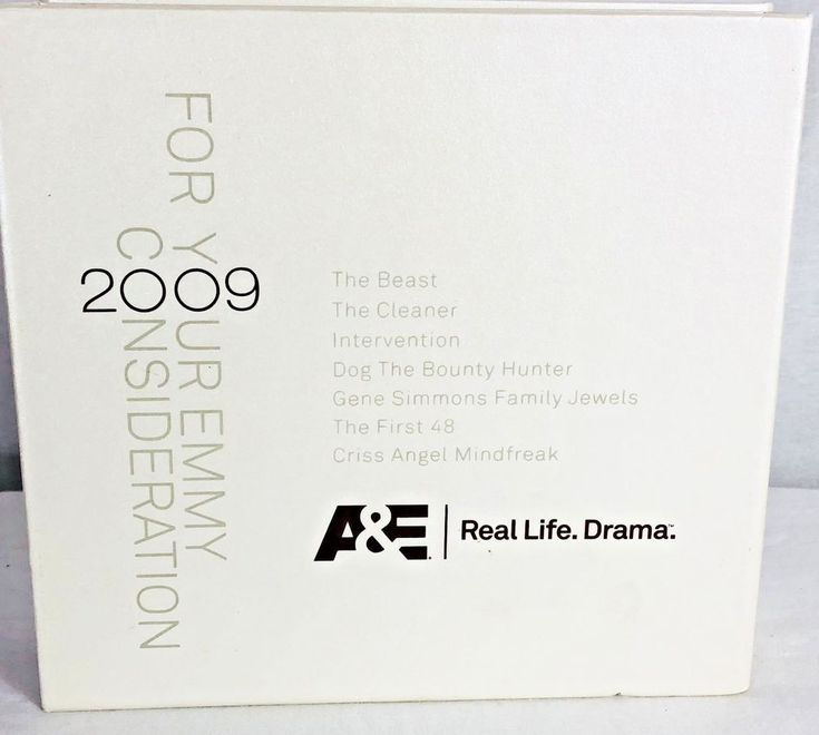 Vtg 2009 A&E For Your Emmy Consideration Bio True Story DVD Collection Complete  3.4.18