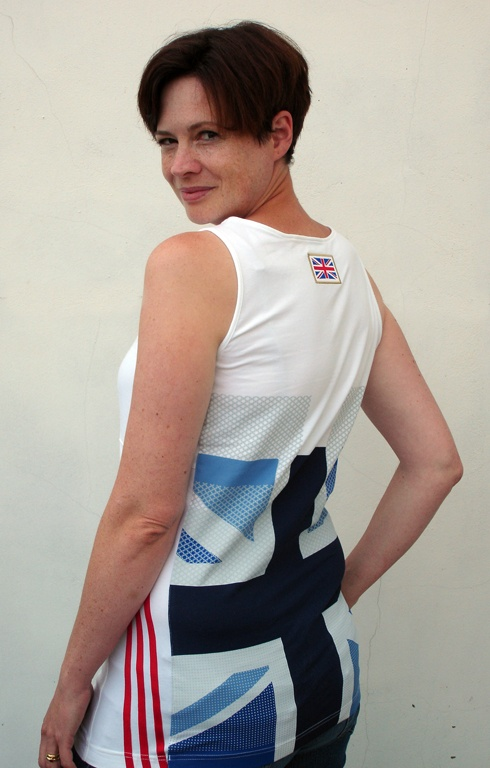 So proud to be British and loving the Stella McCartney team GB kit! Have never actually pinned myself before but for this Stella T-shirt I have made an exception!