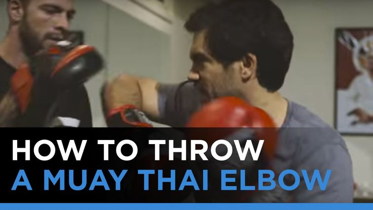 I was training at Knowledge Society Headquarters with a Muay Thai master. Joe Schilling has the fastest knockout in US history. He is a specialist in elbow strikes.   how to throw a muay thai elbow, knowledge society