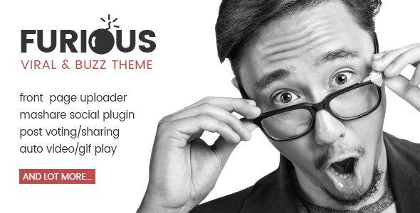 Furious - Viral & Buzz WordPress Theme (Entertainment) - http://creativewordpresstheme.com/furious-viral-buzz-wordpress-theme-entertainment/