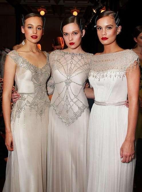 Vestidos de novia estilo art decó: Mejores modelos [FOTOS] - Vestidos de novia estilo art decó: tendencia en bodas