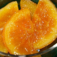 Πορτοκάλι γλυκό - Portokali glyko - Greek Spoon Sweet orange with syrup