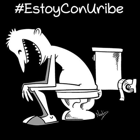 #EstoyConUribe #Caricatura Nadim