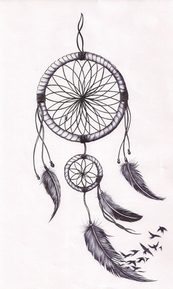 Dreamcatcher tat by mmpninja on deviantART