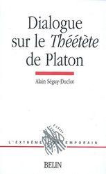 Le livre est consacré à l'un des grands dialogues de la maturité de Platon, qui porte sur la définition de la science.Alain Séguy-Duclot s'y sépare des trois grandes traditions interprétatives du Théétète (néo-kantisme, phénoménologie et philosophie analytique) et prolonge les intuitions développées dans son étude du Parménide de Platon (Belin 1998). Il montre comment, dans le Théétète, le débat de Socrate avec la pensée du sophiste Protagoras, habituellement négligé par les commentateurs…