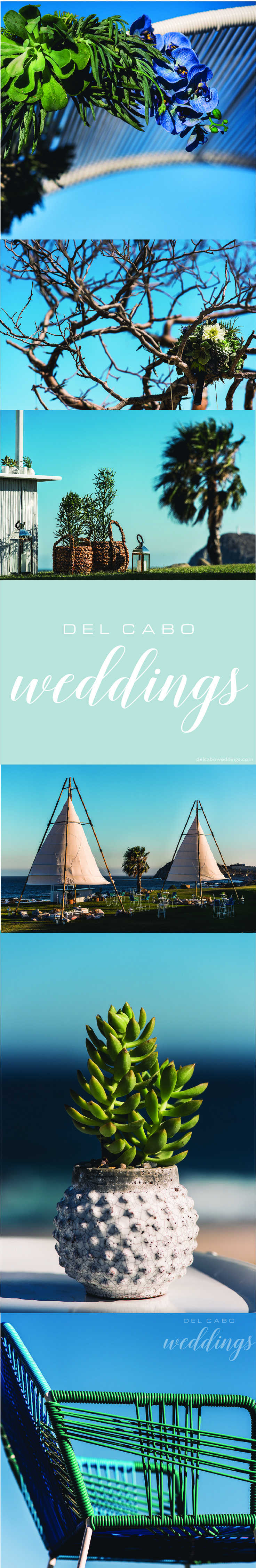 Baja wedding ideas! Cabo San Lucas is the best destination for your wedding in Mexico! Get décor ideas, inspiration for your nautical wedding!