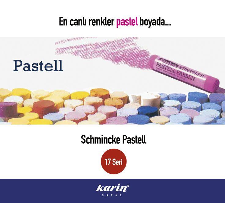 En canlı renkler pastel boyada... karinsanat.com Schmincke Pastel  #pastelboya #pastel #karinsanat #schmincke #painting #colors #art