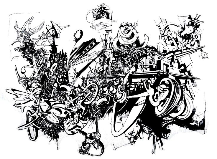 13 best Graffiti & Street Art coloring pages images on ...