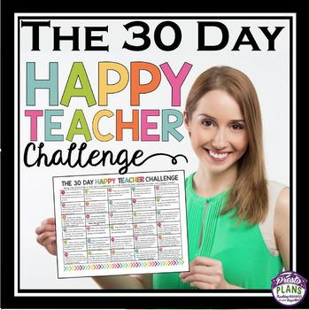 FREE DOWNLOAD: THE 30 DAY HAPPY TEACHER CHALLENGE: Lets face it; teaching can sometimes be a stressful gig.  It is so easy to fall in the trap of focusing on the negative, but doing that only gives you more stress!  There are so many little things that you can do to make your day a little bit happier.