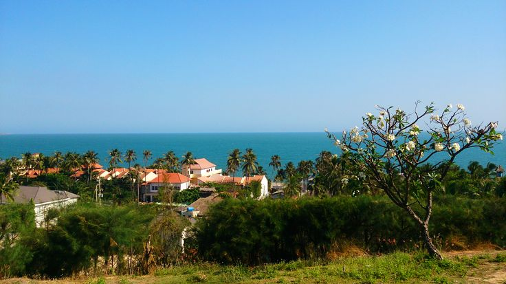 View from the hill, Vietnam, Mui Ne