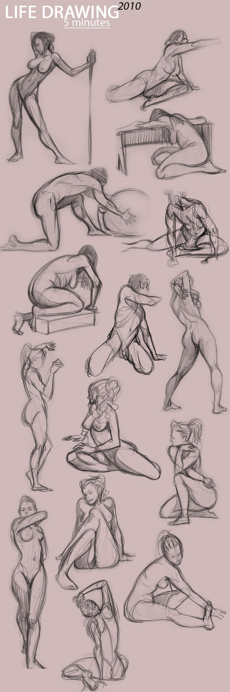 some poses