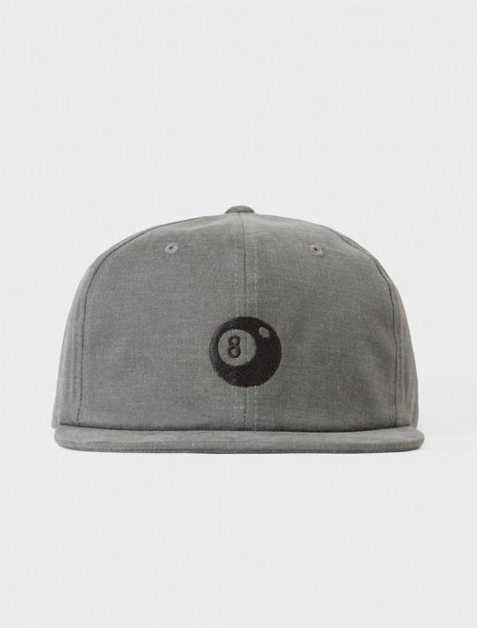 Stussy - 8-Ball Strapback Cap - Black