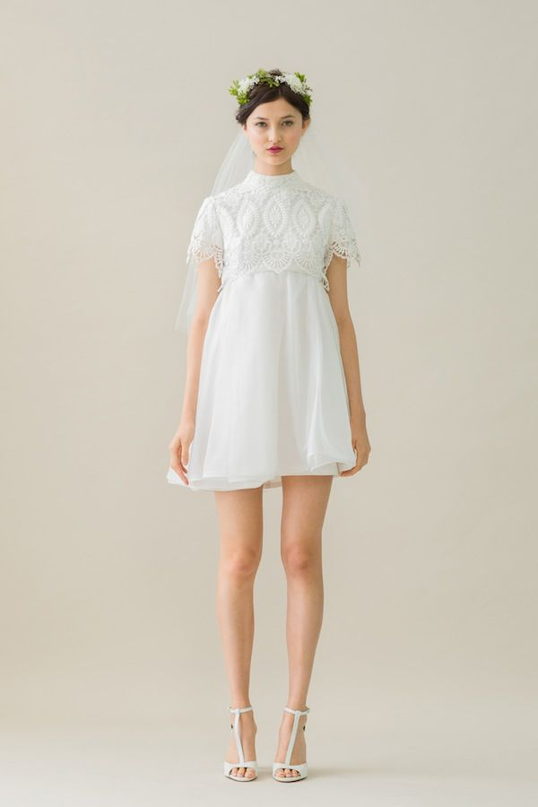 How STUNNING is this #VINTAGE 60s baby doll dress from Rue De Seine? http://www.trulyandmadly.com/suppliers/88. Truly and Madly Wedding Dresses