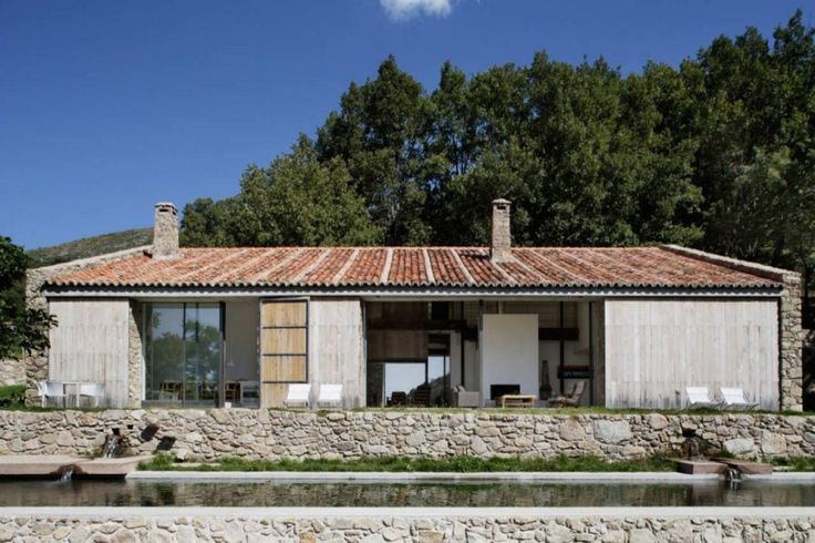 Spanish stable turned contemporary stone home | Modern House Designs