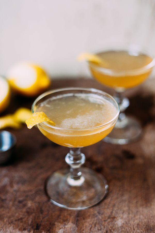 bourbon sidecar cocktails.